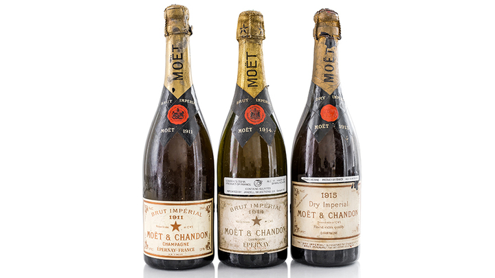 Collectors are Giddy Over Acker's Rare 900-Lot Champagne Auction